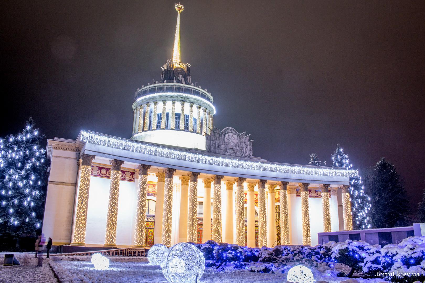 Картинки фото зима киев